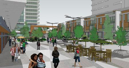Southport Square Condos Street Rendering